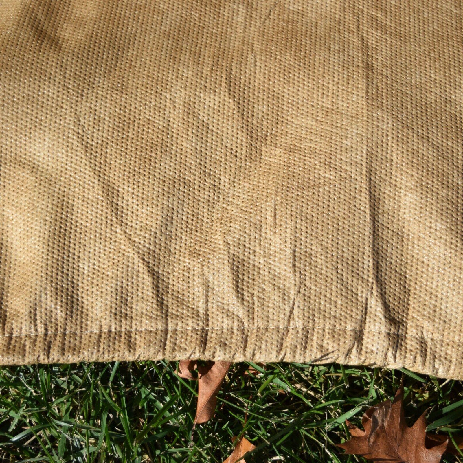 Patio Round Table Outdoor Garden Dust Rain UV Protection