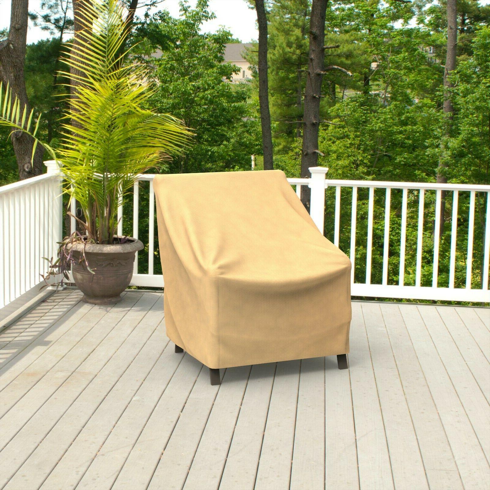 Patio Garden Furniture Dust Rain UV Protection