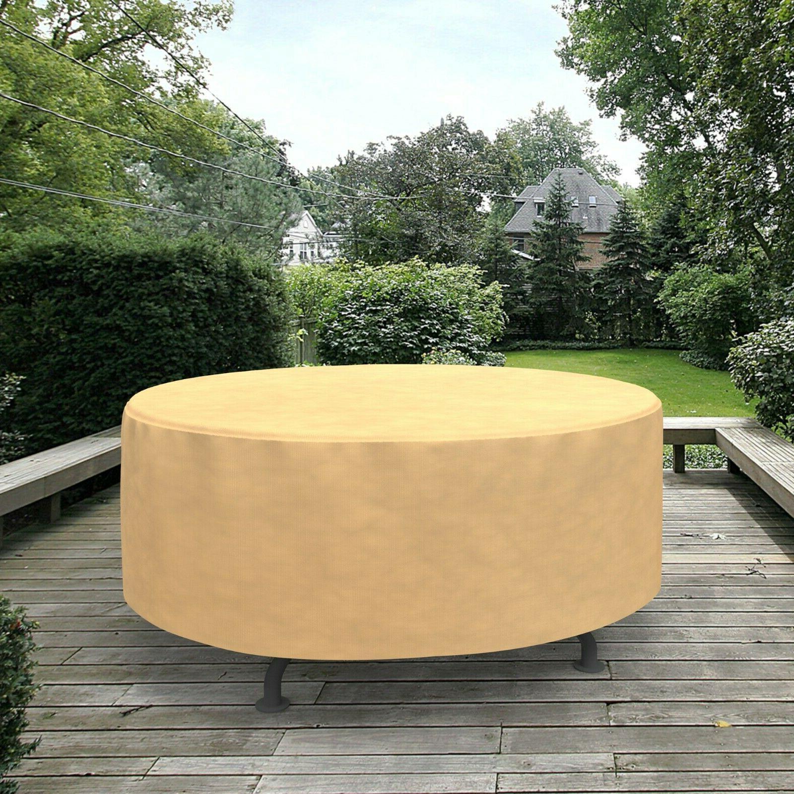 Outdoor Garden Furniture Rain UV Tan