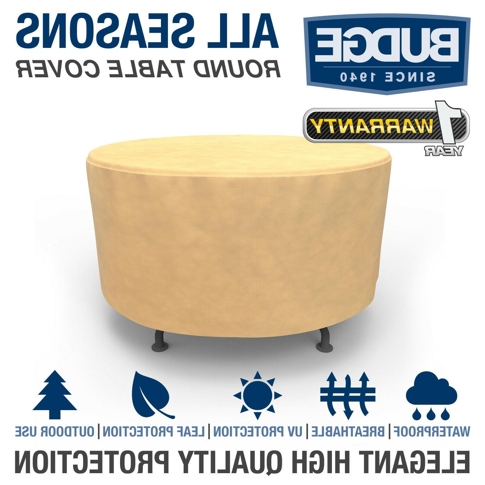all seasons waterproof round patio table cover