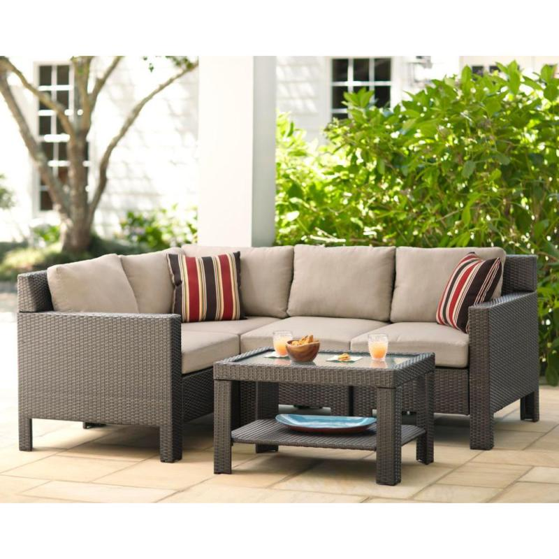 Beverly Beige Replacement 2 Piece Outdoor Chair Cushion