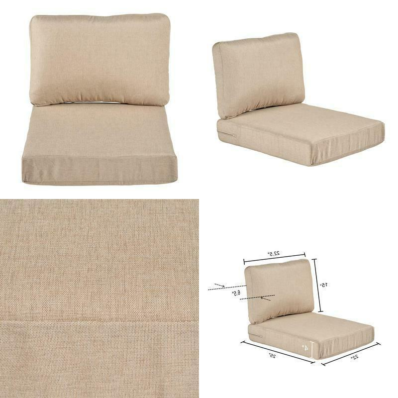 beverly beige replacement 2 piece outdoor sectional