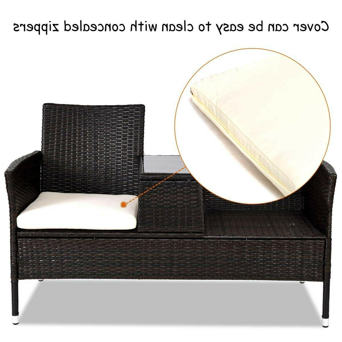 BRAND NEW Tangkula Furniture Set Removable Cushions