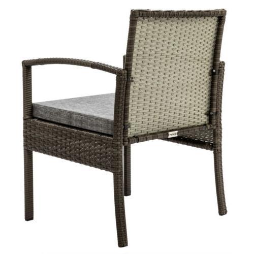 Conversation Set Rattan Furniture Cushioned Pieces