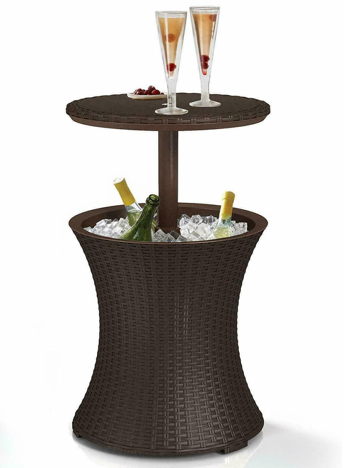 cool bar table patio outdoor furniture bistro