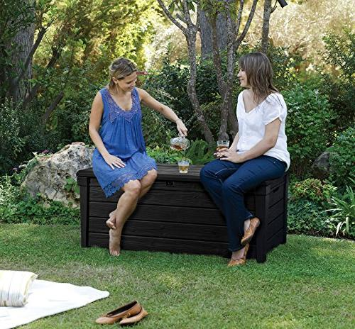 Deck Furniture Gallon Large Seat Yard White