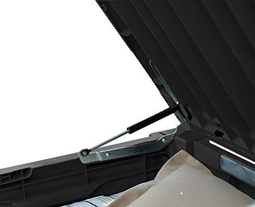 Deck Box Furniture Gallon Large Bench White