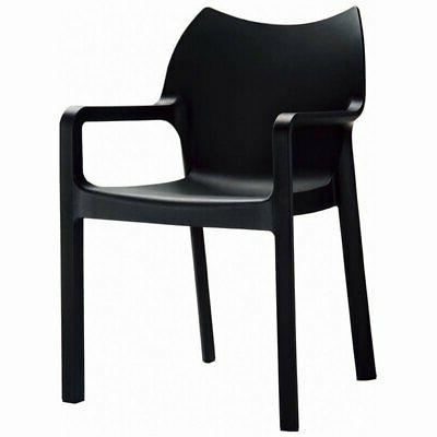 Compamia Diva Resin Outdoor Dining Armchair - Set of 4