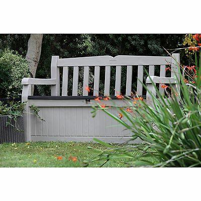 Keter Eden gal. Beige / Outdoor Patio Storage Box