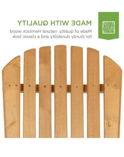 Best Choice Products Wood Adirondack Furniture