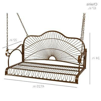 Hanging Best Choice Products Iron Patio Furniture