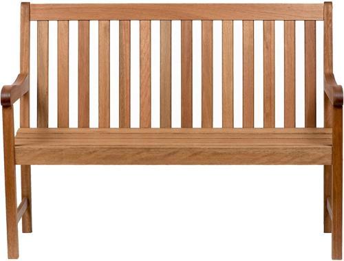 Amazonia Milano 4-Feet Patio Bench | Eucalyptus Wood | Ideal