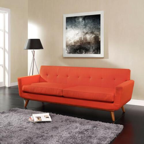 modway engage mid century modern upholstered fabric