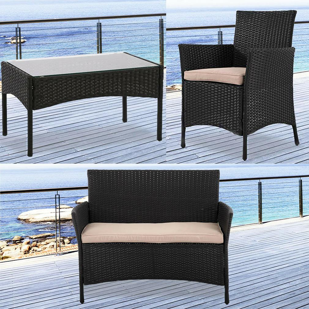 Pcs Outdoor Sofas Rattan