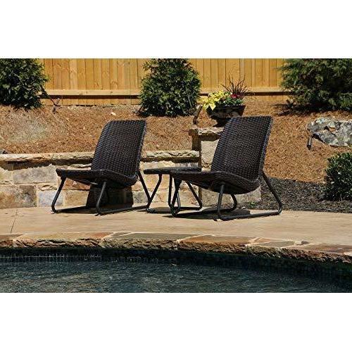 Outdoor Set Patio Furniture Weather Garden