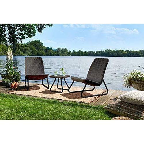 Outdoor Set Furniture Weather Chairs Garden