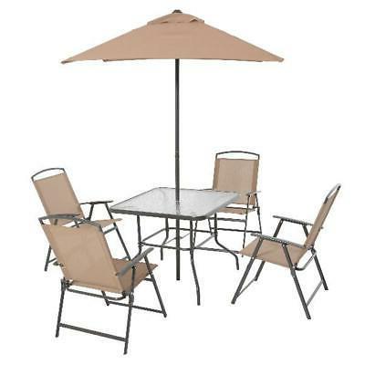 Outdoor Dining Furniture Backyard 4 and Tan