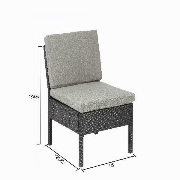 Outdoor Furniture Wicker Garden Corner Couch
