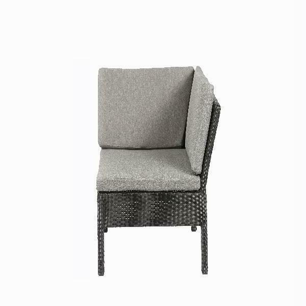 Outdoor Patio PE Wicker Rattan Sectional Corner Sofa