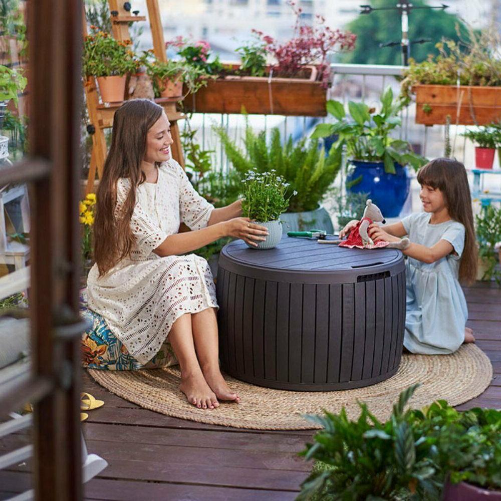 Outdoor Table Yard Rattan Furniture