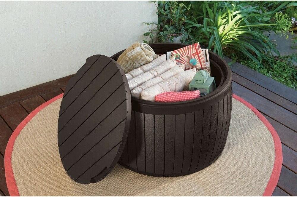 Outdoor Table Storage Yard Furniture