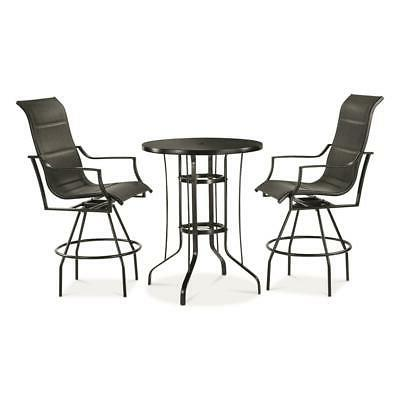 outdoor patio furniture chat set 3 piece