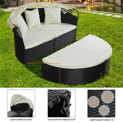 Outdoor Sofa Round Bed Canopy