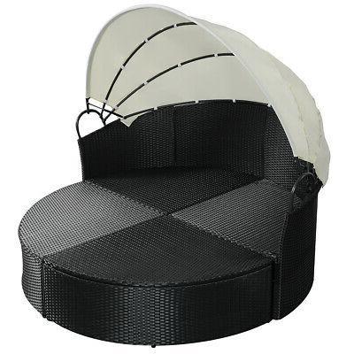Outdoor Bed Furniture Wicker