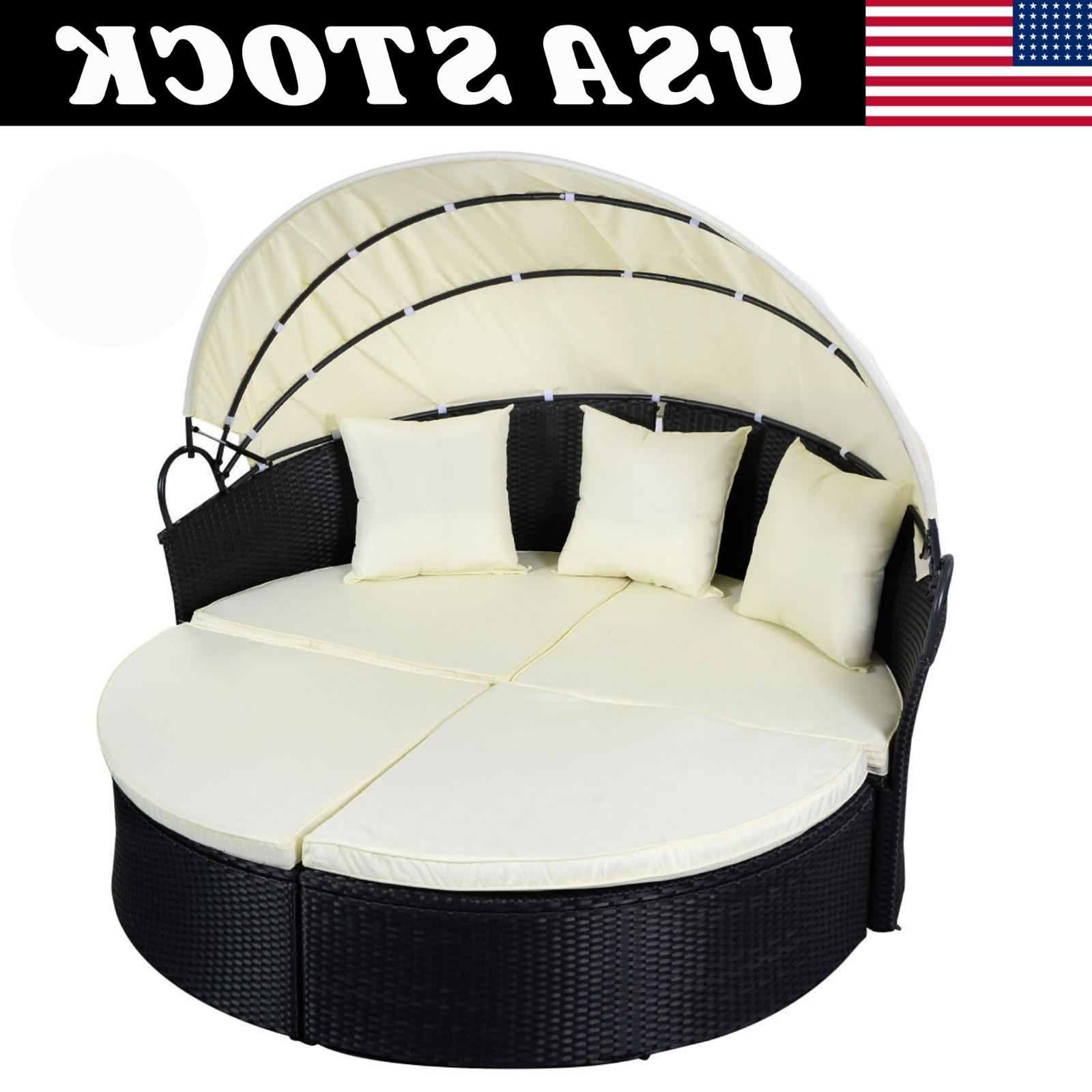 Outdoor Furniture Round Daybed