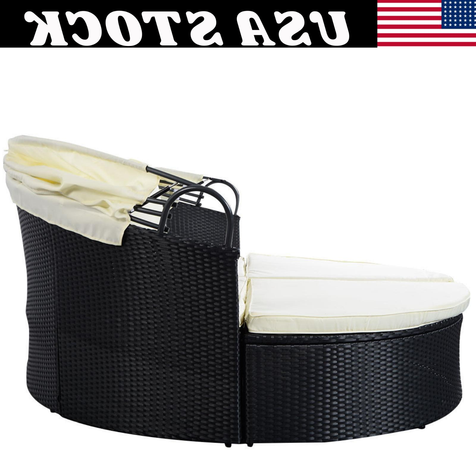 Outdoor Patio Sofa Furniture Round Daybed