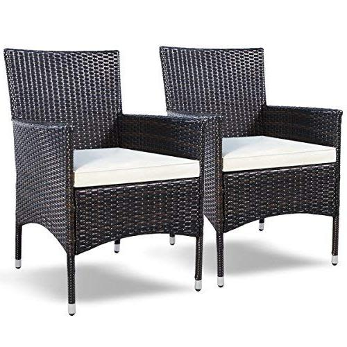 patio armchair rattan single chair