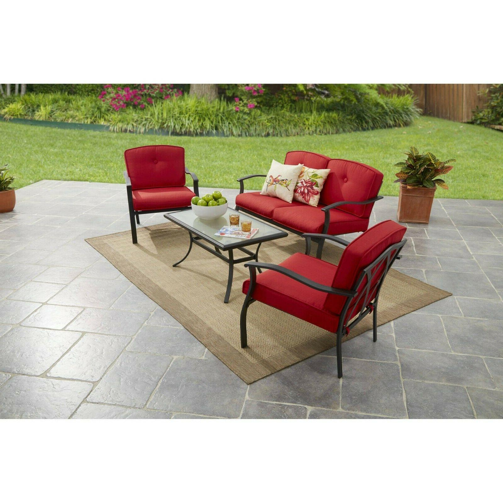 Patio Conversation Set Outdoor Furniture Sets For Backyard G