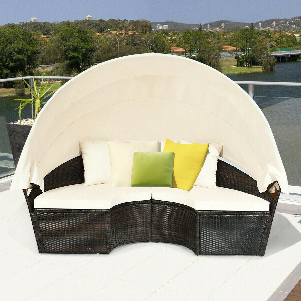 Patio Canopy Furniture Cushioned