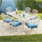 Patio Dining Set Outdoor Garden Home Kitchen Furniture Table
