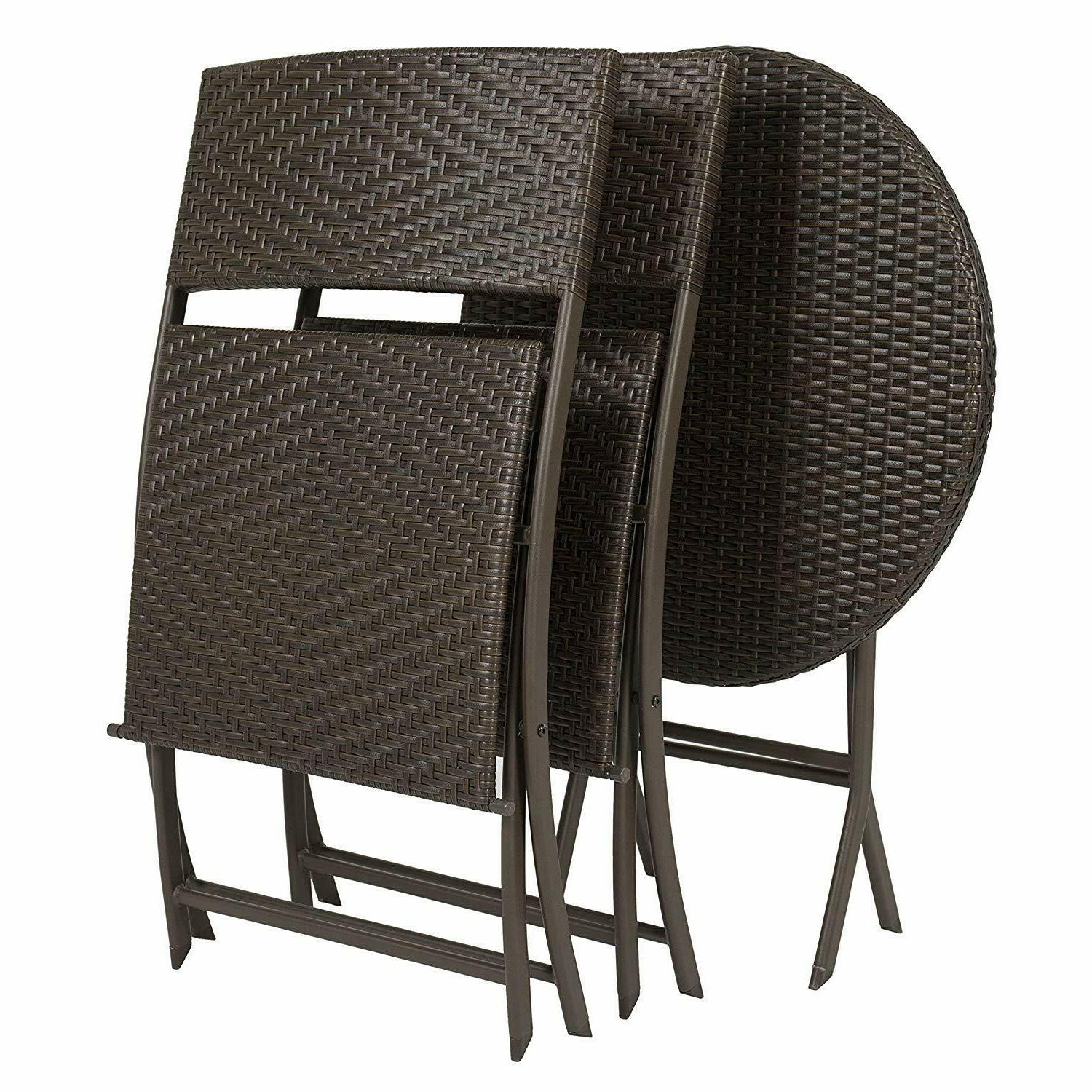 Patio Dining Garden Chairs Round Table