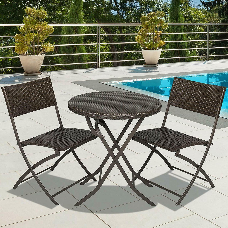 patio dining set outdoor garden furniture wicker