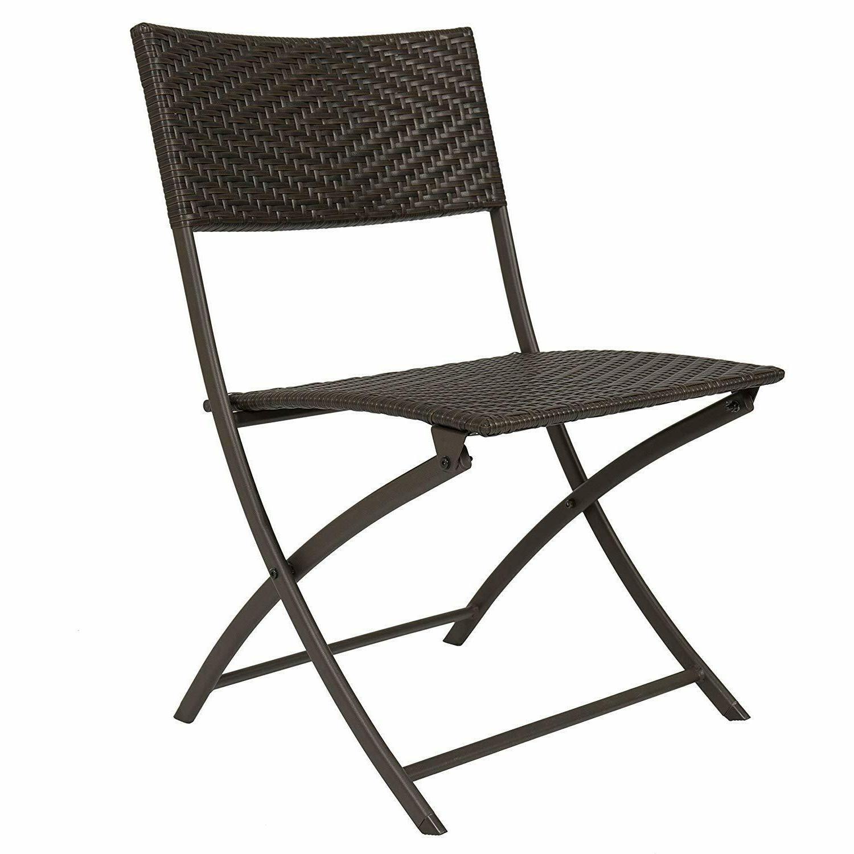 Patio Dining Garden Furniture Wicker Chairs