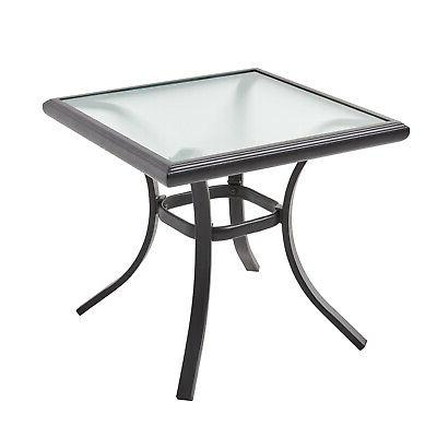 Patio Table Chairs Set 3 Front Swivel