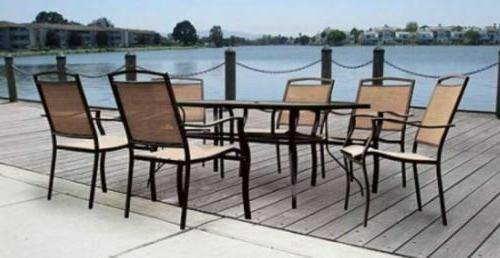 Patio Furniture Dining Set Table and Chair Sets Clearance La
