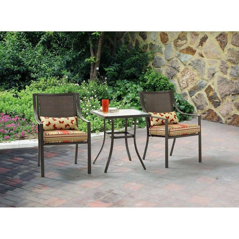 Patio Furniture Set Table and Chairs Conversation Sets Clear