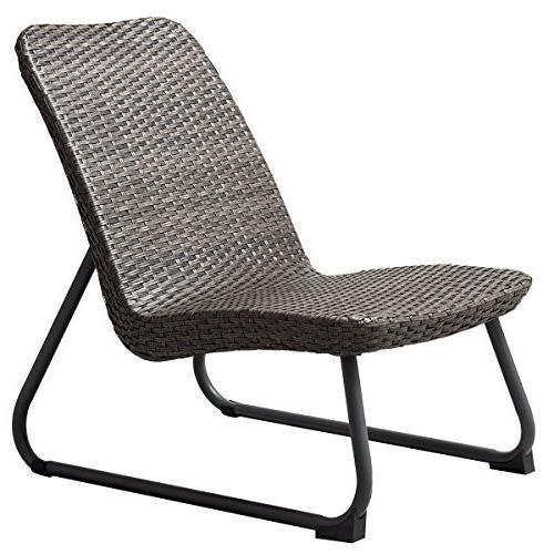 Tangkula Set 3 All Outdoor Garden Chair & Table