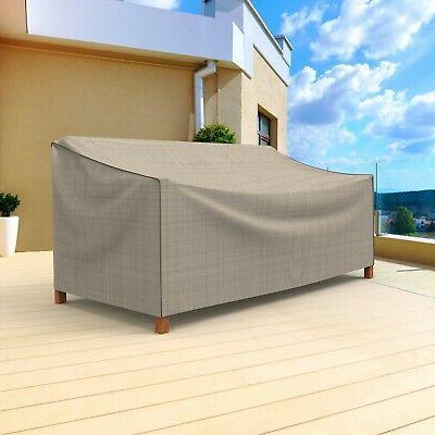 Patio Loveseat Cover, Waterproof Outdoor Garden Furniture UV Protection