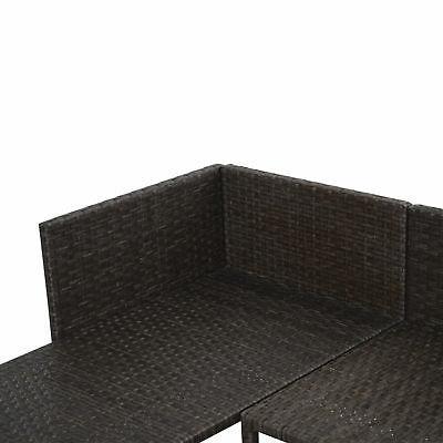 3PC Patio Sofa Furniture