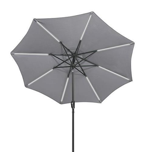 Tangkula Umbrella Outdoor Lawn Garden Rain Shelter Patio with