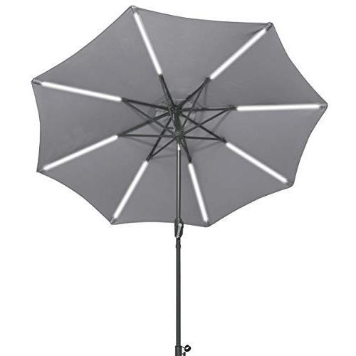 patio umbrella tilt lawn