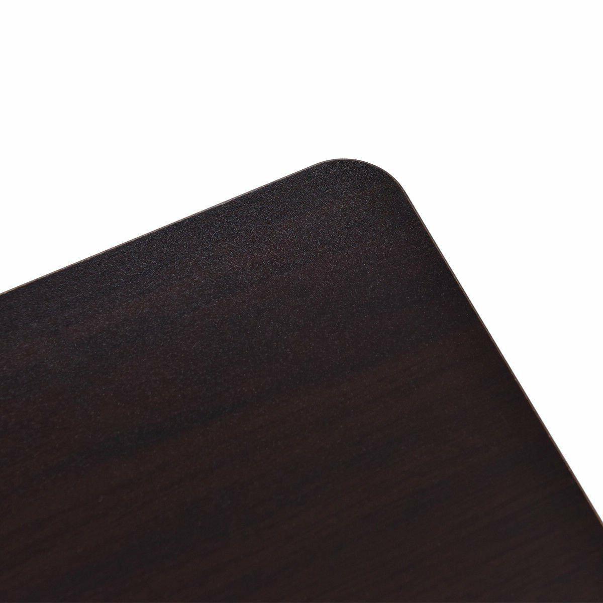 TANGKULA Portable Table TV Notebook Wood