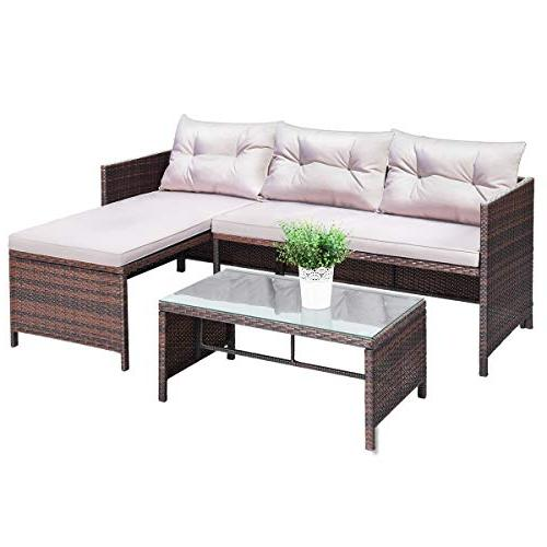rattan furniture sofa set lounge