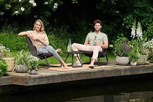 Keter Rio All Outdoor Patio Garden Table Furniture,