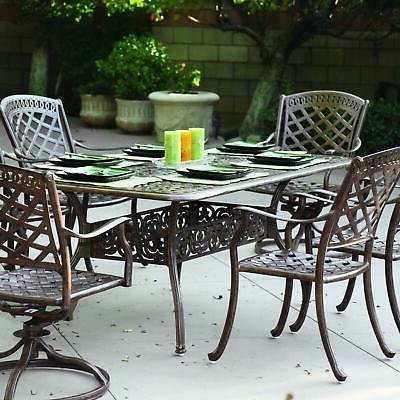 sedona 7 piece patio dining set