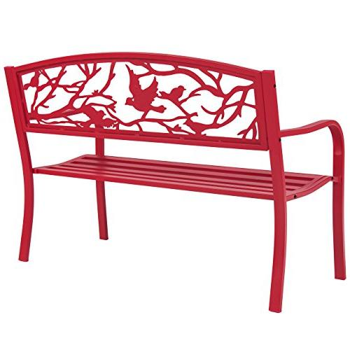 Best Steel Patio Park Outdoor Furniture, Rose